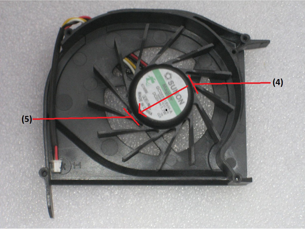 how to fix fans ux32v